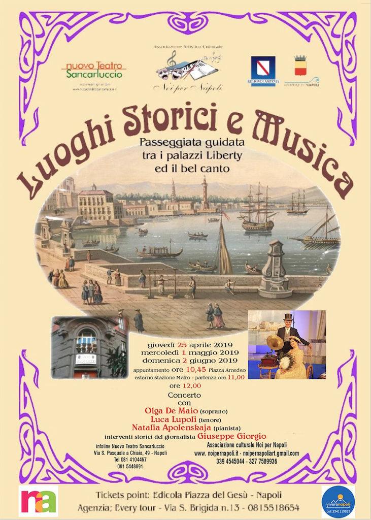 Luoghi Storici e Musica: Passeggiata guidata tra il liberty ed il bel canto